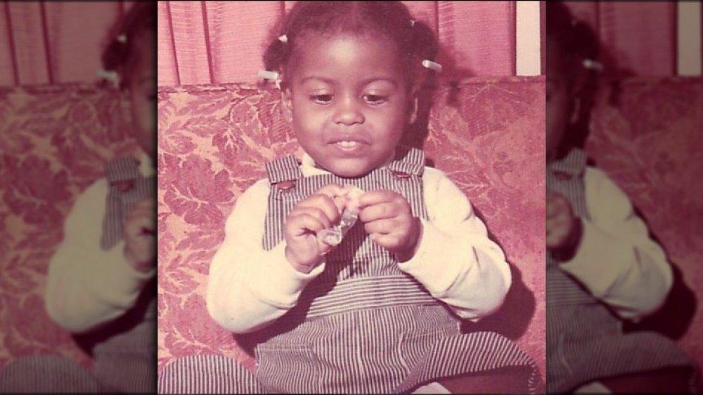 Tamron hall baby photo 1972