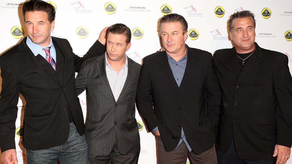 Billy, Stephen, Alec, and Daniel Baldwin posing together