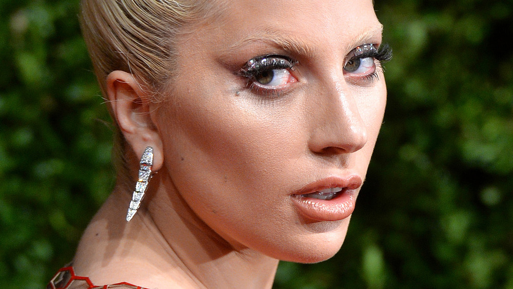 """Lady Gaga at the 2019 Grammys performing """"Shallow"""" from """"A Star Is Born"""""""