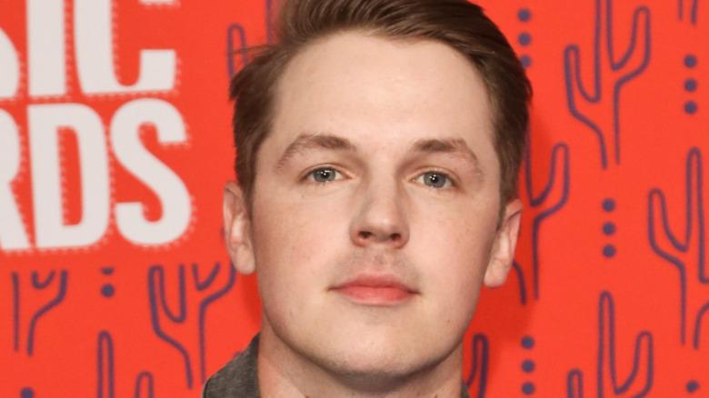 Travis Denning, CMT Awards red carpet