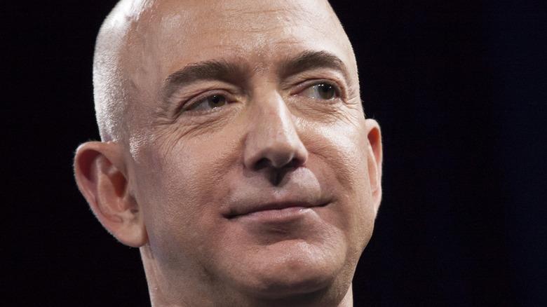 Jeff Bezos smile