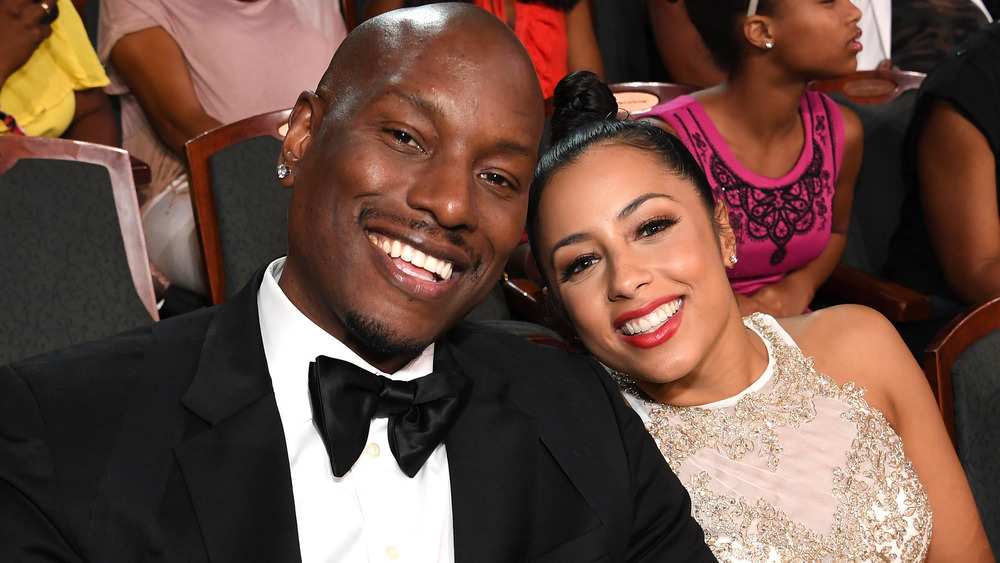 Tyrese and Samantha Gibson smiling
