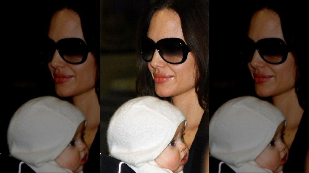 Angelina Jolie & her daughter Vivienne