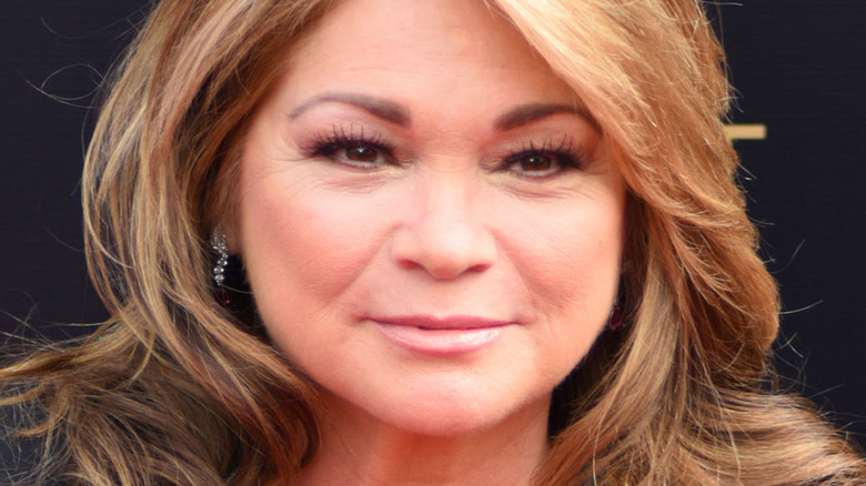 Valerie Bertinelli poses at an event