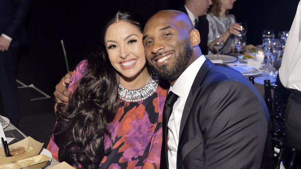 Vanessa and Kobe Bryan