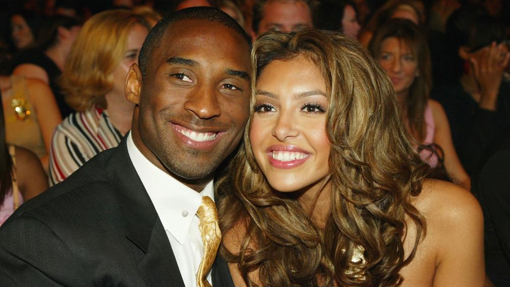 Vanessa Bryant and Kobe Bryant at an award show
