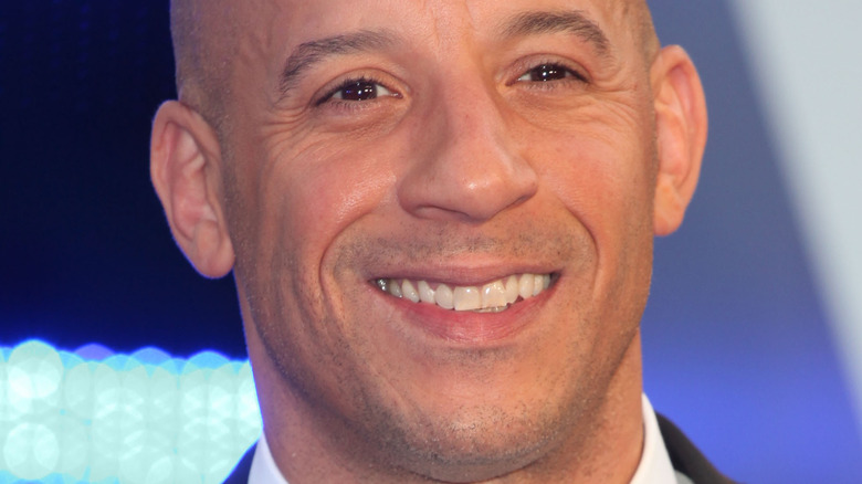 Vin Diesel on the red carpet