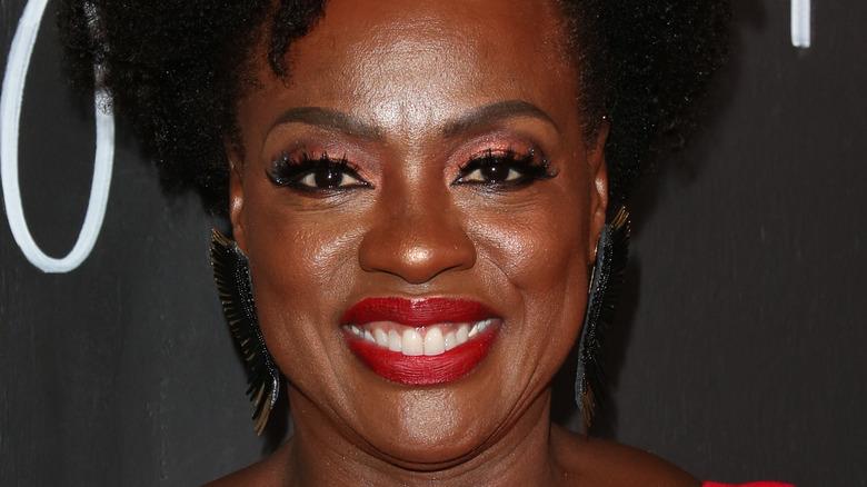 Viola Davis smiling