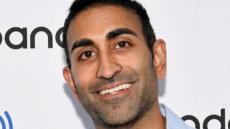 Vishal Parvani smiling on the red carpet