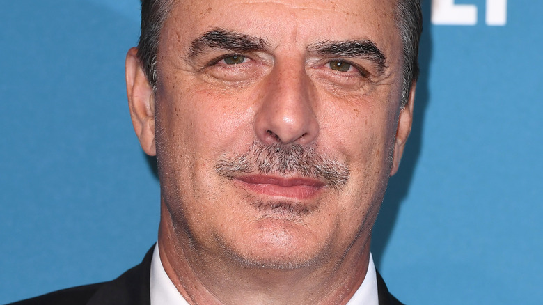 Chris Noth with slight smile
