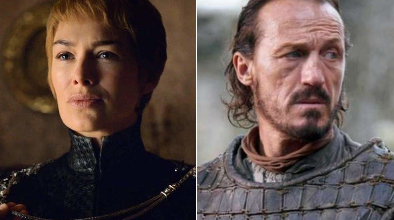 Cersei, Bronn in Game of Thrones