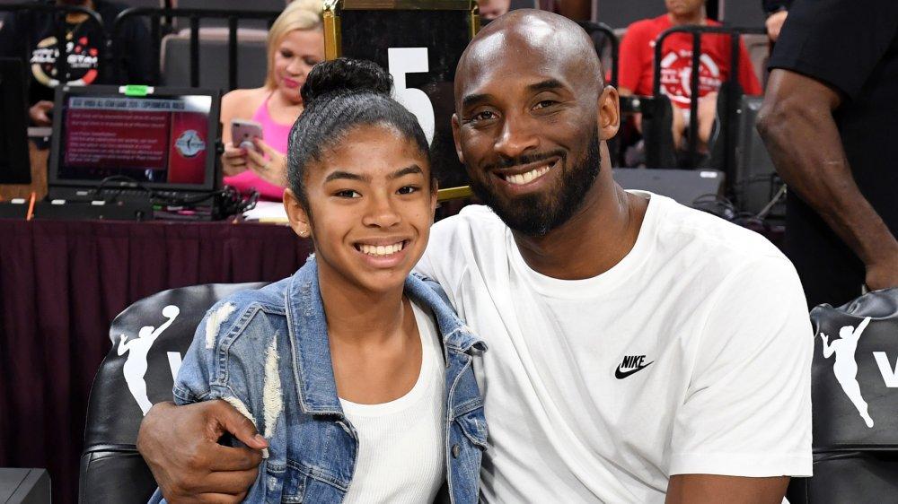 Kobe Bryant and his daughter, Gianna