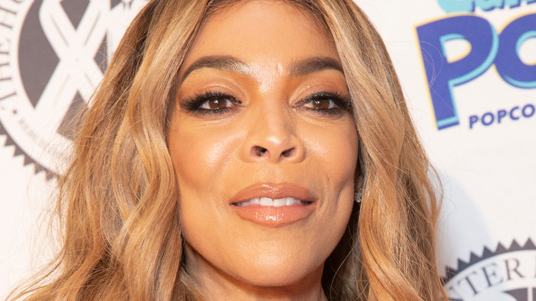Wendy Williams on the red carpet