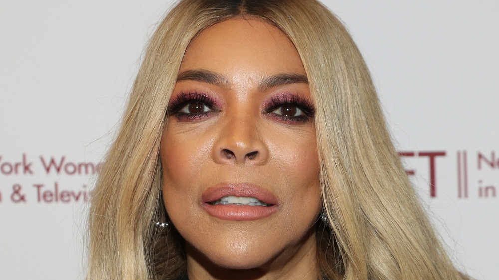 Wendy Williams on red carpet
