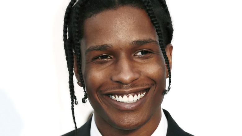 A$AP Rocky smiling