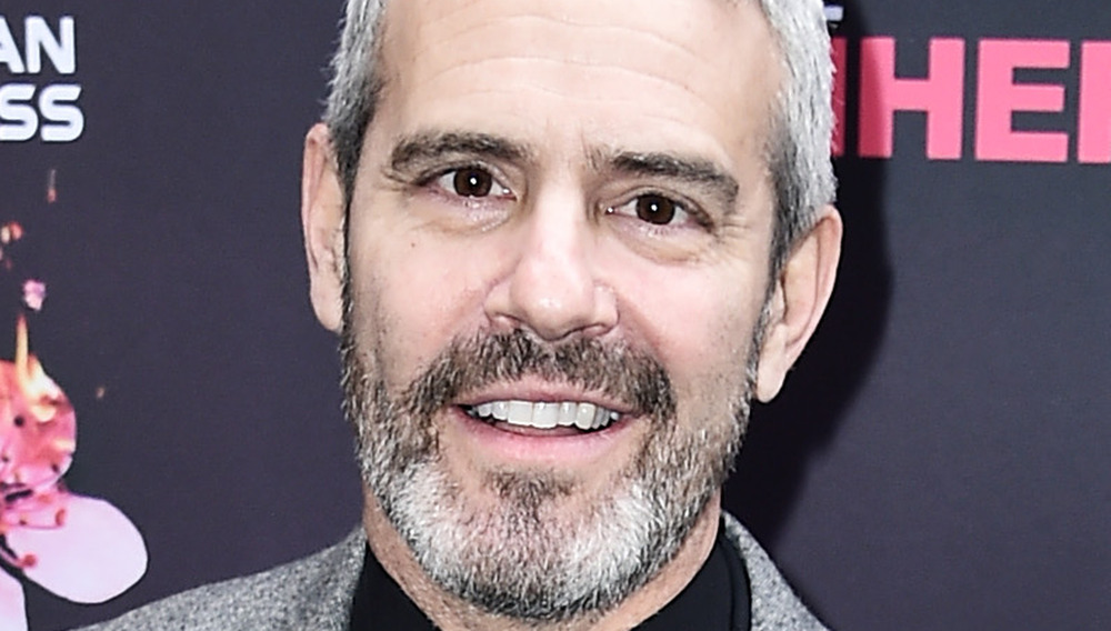 Andy Cohen on a red carpet