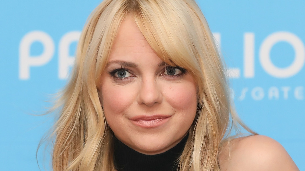 Anna Faris attending a press event for Overboard