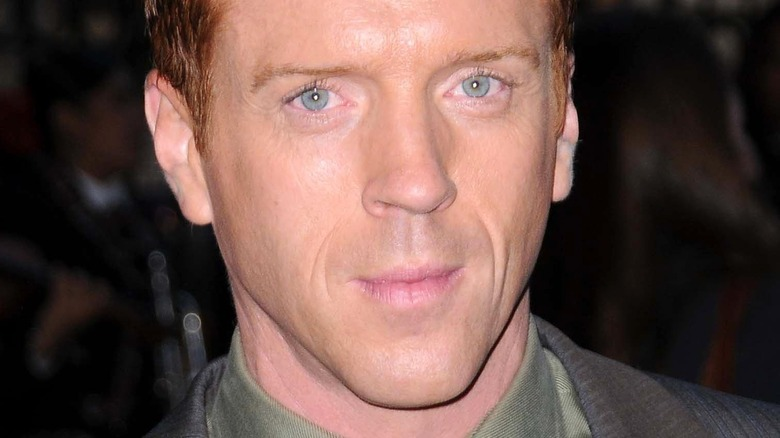 Damian Lewis with serious expression