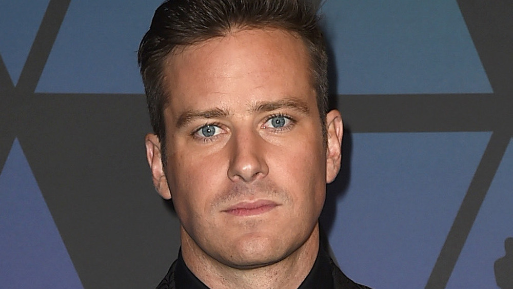 Armie Hammer on the red carpet