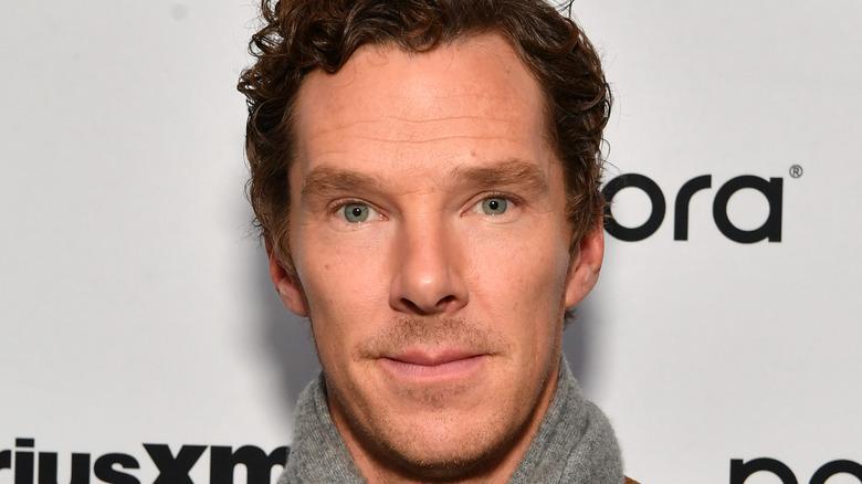 Benedict Cumberbatch smiling looking into camera