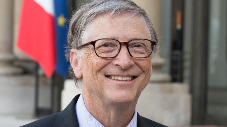 Bill Gates in Paris in 2018