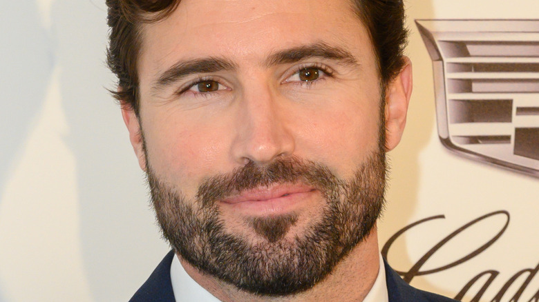 Brody Jenner posing at a red carpet event
