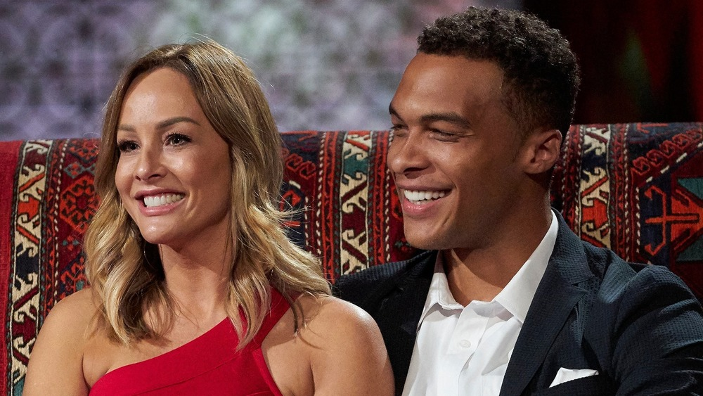 Clare Crawley and Dale Moss appear together on The Bachelor