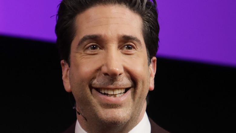 David Schwimmer smiling