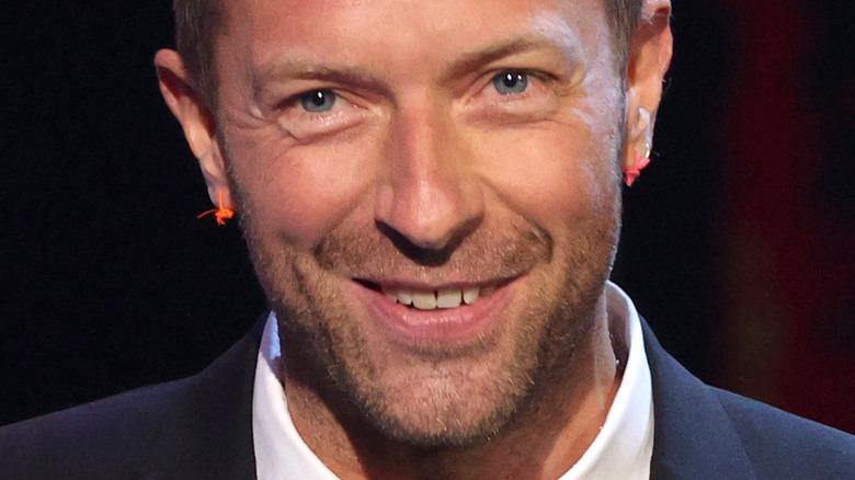 Chris Martin smiling