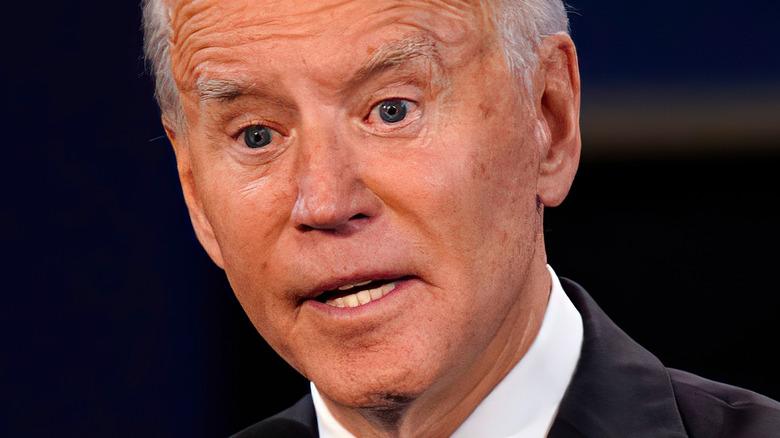 Joe Biden shocked
