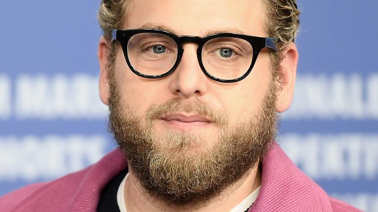 Jonah Hill wearing glasses