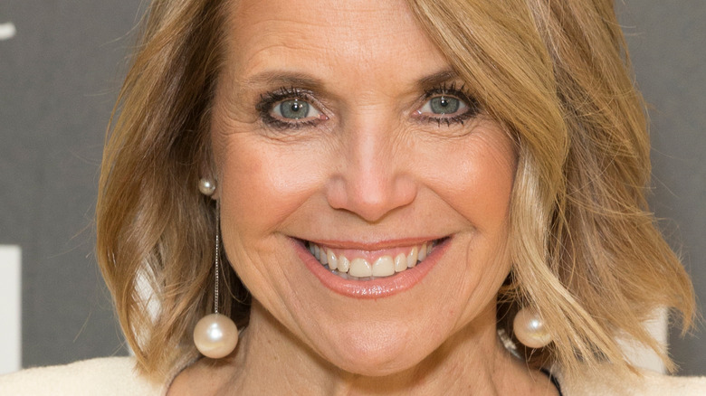Katie Couric at event