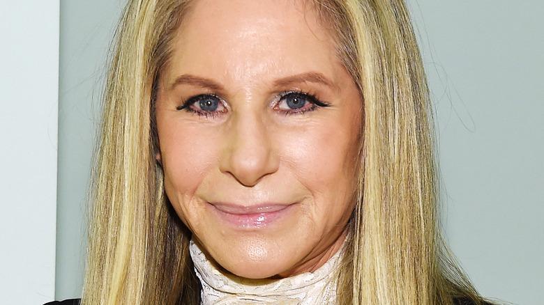 Barbra Streisand at an event