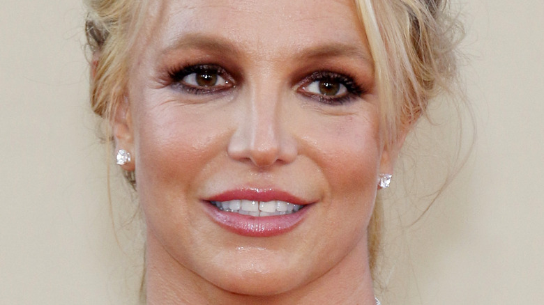 Britney Spears at red carpet
