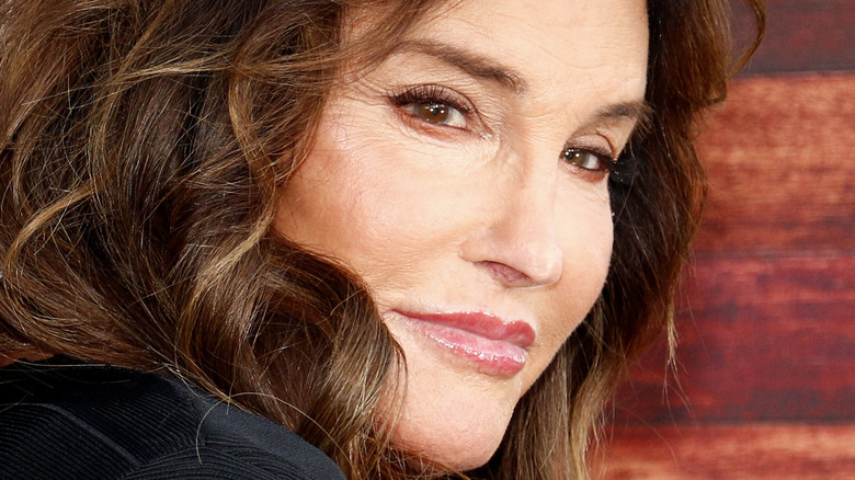 Caitlyn Jenner posing at an event