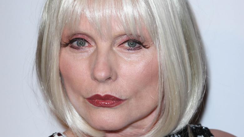 Debbie Harry bob and cateye