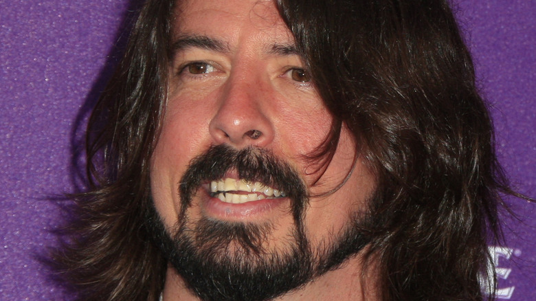 Dave Grohl on the red carpet