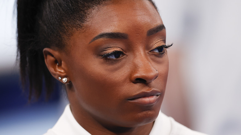 Simone Biles at the Olympic Games in Tokyo