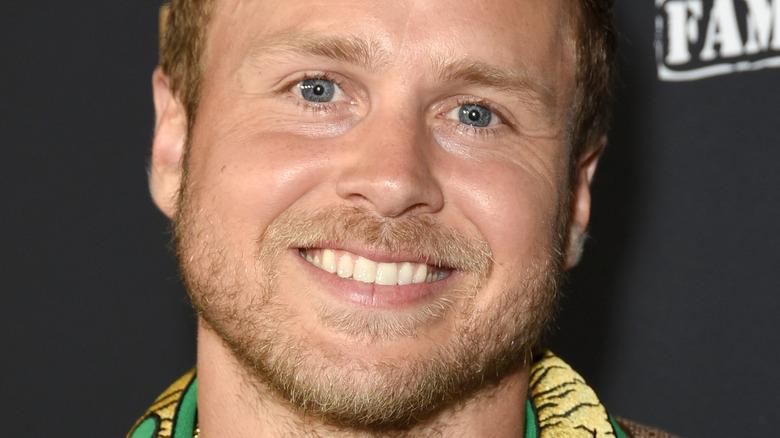 Spencer Pratt smiling