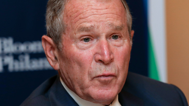 George W Bush, New York, 2019
