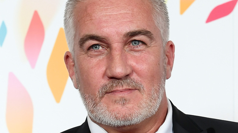 Paul Hollywood posing on the red carpet