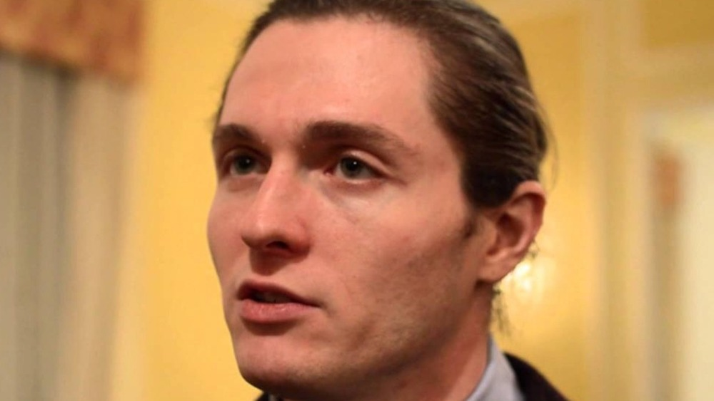 Raffaele Sollecito interviewing