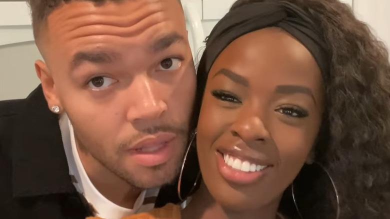 Justine Ndiba and Caleb Corprew on their vlog