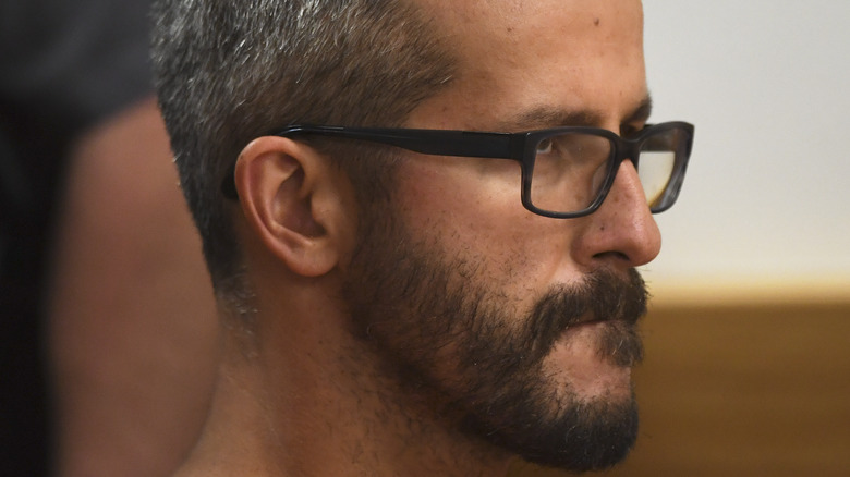 Chris Watts during his trial