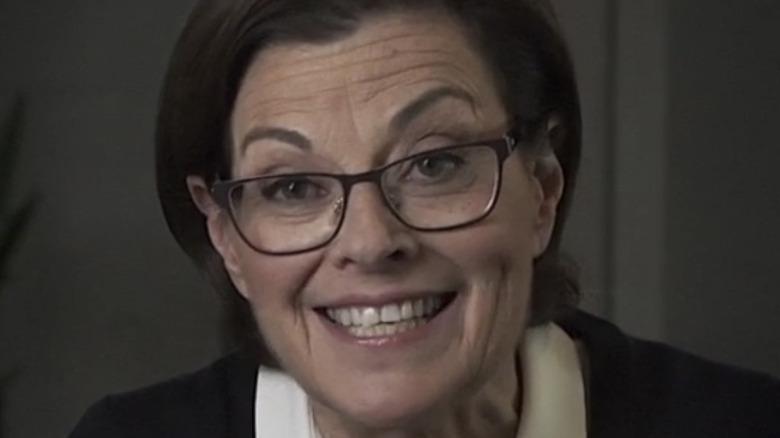 Nancy Salzman smiling in an NXIVM video