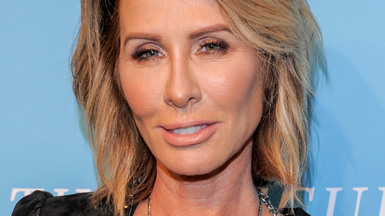 Carole Radziwill with slightly skeptical expression