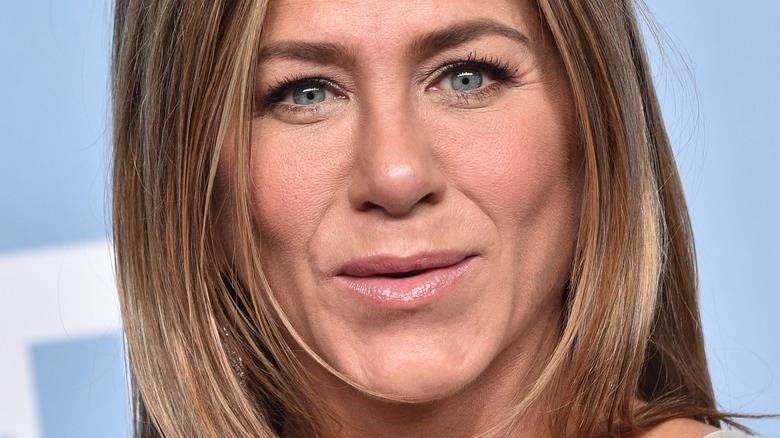 Jennifer Aniston up close