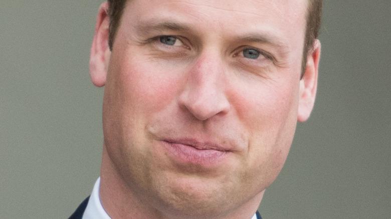 Prince William nose
