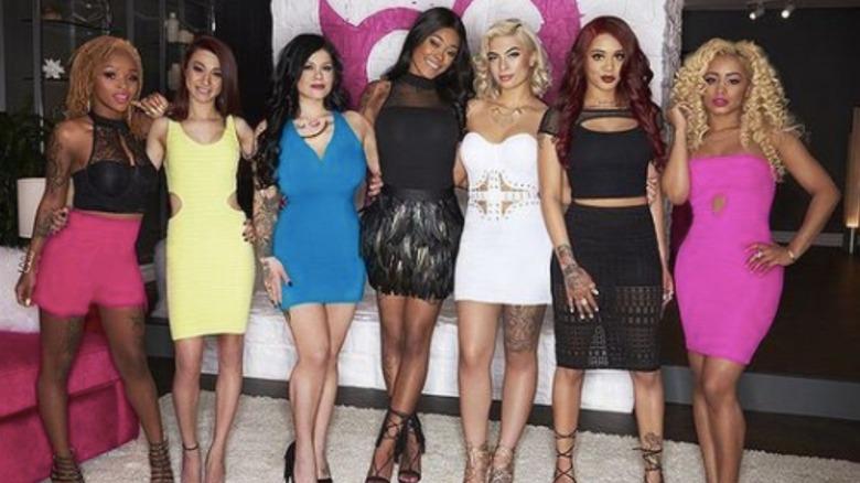 Bad Girls Club Season 16 stars posing for a photo