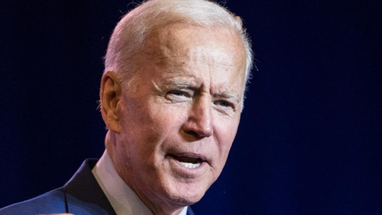 Joe Biden after winning the 2020 election
